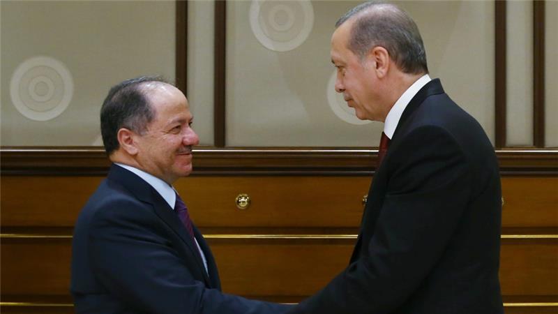 Barzani Erdogan