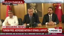 Erdogan beszél