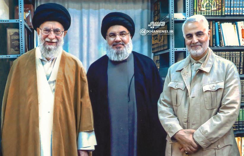 suleimani nasrallah khameini