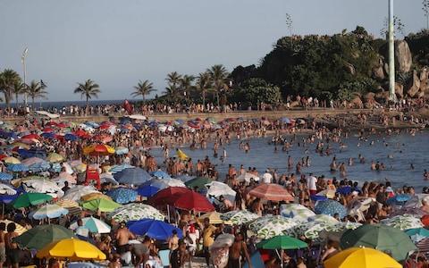 turisták bárhol rio
