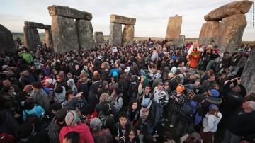 turisták bárhol Stonehenge